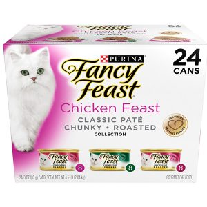 Purina Fancy Feast Classic Gourmet Variety Pack Wet Cat Food
