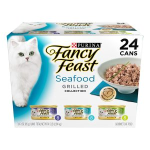 Purina Fancy Feast Grilled Gourmet Seafood Variety Pack Wet Cat Food