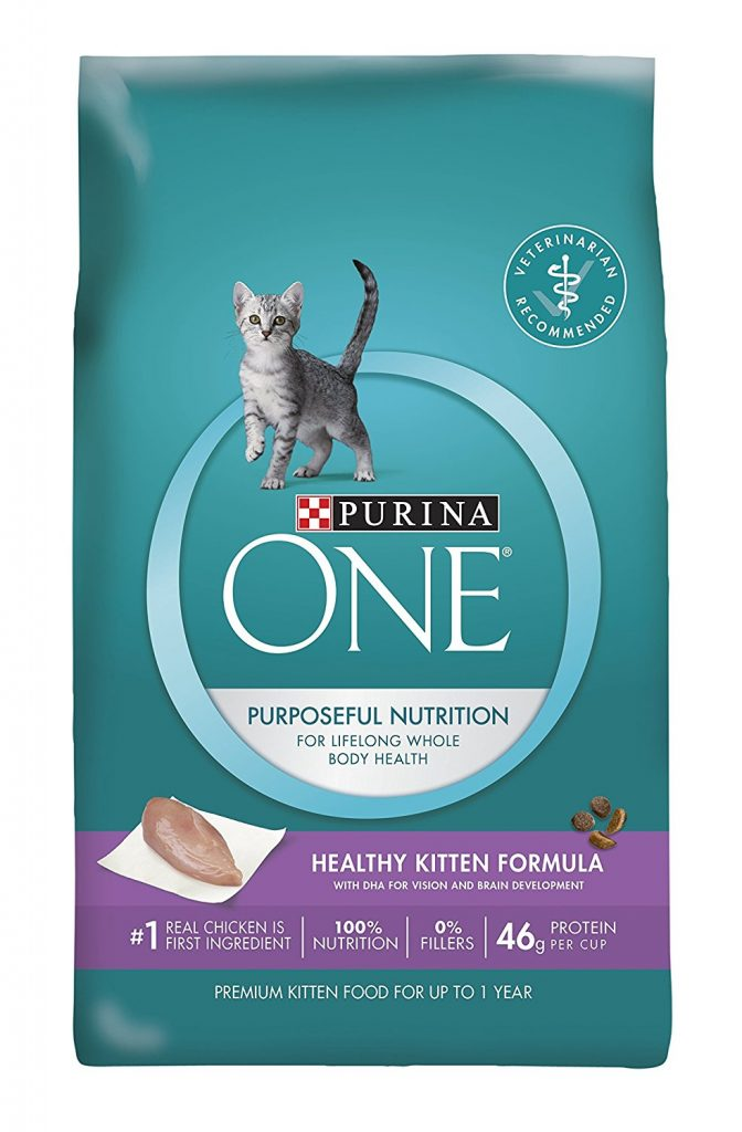 Purina ONE Healthy Kitten Formula Premium Dry Cat Food